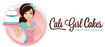 Cali Girl Cakes | Cakes and Gourmet Dessert Specialists – Bolingbrook, Il. Logo